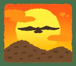 Raptors sticker (Owl,Eagle,Hawk,etc.) sticker #1022486