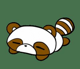 Alan of a racoon sticker #1024660