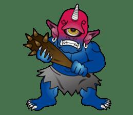 Monster  Sticker sticker #1024936
