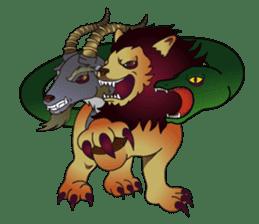 Monster  Sticker sticker #1024940