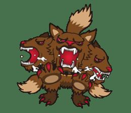 Monster  Sticker sticker #1024942