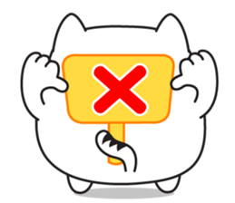 Healing fat cat sticker #1025215