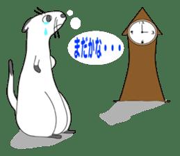 Everyday conversation and ferrets Idol sticker #1025713