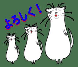 Everyday conversation and ferrets Idol sticker #1025720