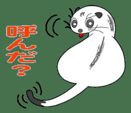 Everyday conversation and ferrets Idol sticker #1025722