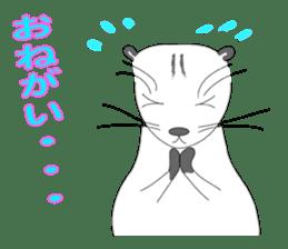 Everyday conversation and ferrets Idol sticker #1025724