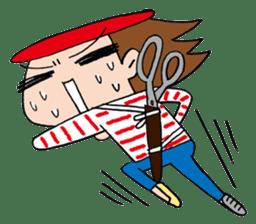 Kou Sensei sticker #1026279