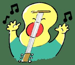 Guitar boy and sometimes Drums boy sticker #1026367