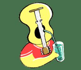 Guitar boy and sometimes Drums boy sticker #1026377