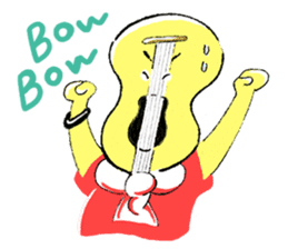 Guitar boy and sometimes Drums boy sticker #1026385