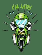 Met rider vol.2 sticker #1026573