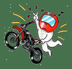 Met rider vol.2 sticker #1026594