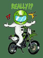 Met rider vol.2 sticker #1026596