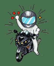 Met rider vol.2 sticker #1026604