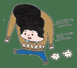 Ubu ten chan sticker #1026727