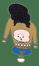 Ubu ten chan sticker #1026734