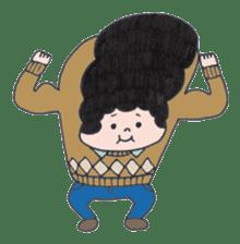 Ubu ten chan sticker #1026736