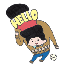 Ubu ten chan sticker #1026739