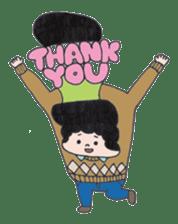 Ubu ten chan sticker #1026741