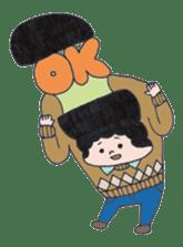 Ubu ten chan sticker #1026743
