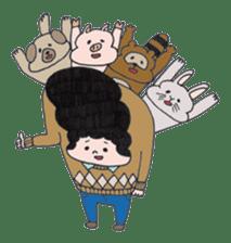 Ubu ten chan sticker #1026745