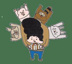 Ubu ten chan sticker #1026746