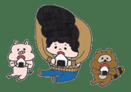 Ubu ten chan sticker #1026756