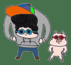 Ubu ten chan sticker #1026764