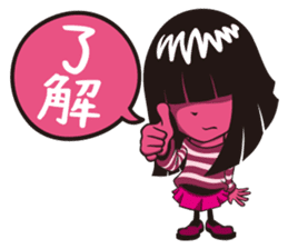 KIKU is cool sticker #1027213