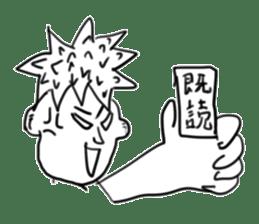 doodling sticker sticker #1027507