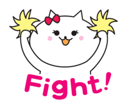 Great every day of a lovely cat. sticker #1027784