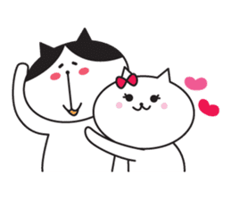 Great every day of a lovely cat. sticker #1027791
