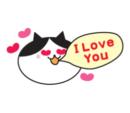 Great every day of a lovely cat. sticker #1027792