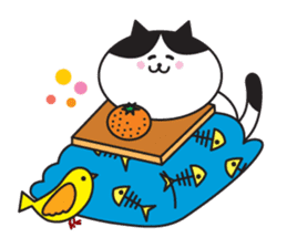 Great every day of a lovely cat. sticker #1027797