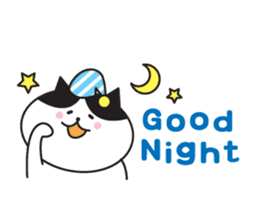 Great every day of a lovely cat. sticker #1027805