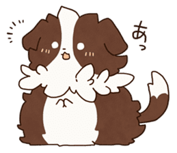 Small Collie sticker #1028176