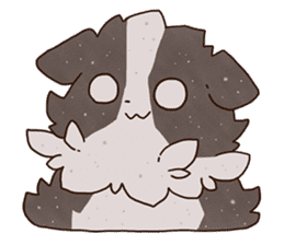 Small Collie sticker #1028187