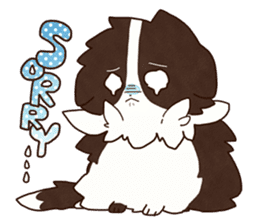 Small Collie sticker #1028191