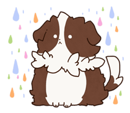 Small Collie sticker #1028196