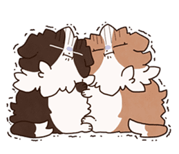 Small Collie sticker #1028202