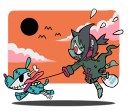 MONSTER FRIENDS! sticker #1028270