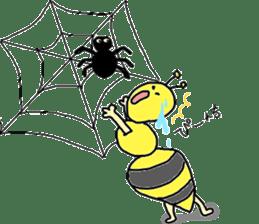 bee sticker #1028535
