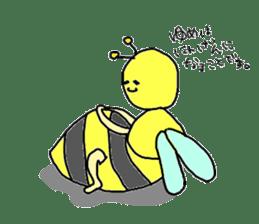 bee sticker #1028536