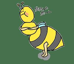 bee sticker #1028537