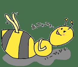 bee sticker #1028538