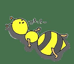 bee sticker #1028542