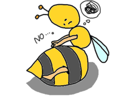 bee sticker #1028548