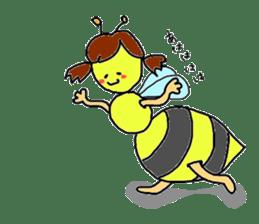 bee sticker #1028551