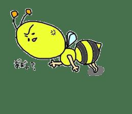 bee sticker #1028552