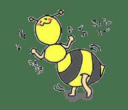 bee sticker #1028553